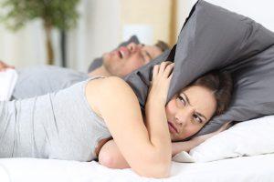 SleepPro Standaard S1 - snurkende man