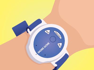 Hulpmiddelen tegen snurken: anti snurk armband of horloge