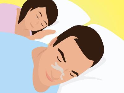 Hulpmiddelen tegen snurken: neusstrips