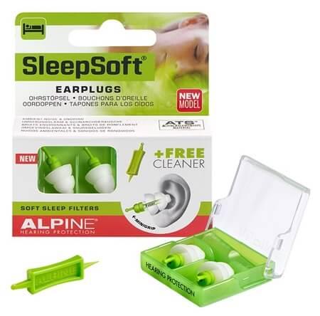 alpine sleepsoft anti snurk oordoppen